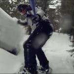 Martin Goeres beim Snowboarden