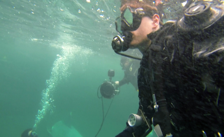 Martin Goeres, Martin Goeres Schauspieler, tauchen, unterwasser, action, james bond